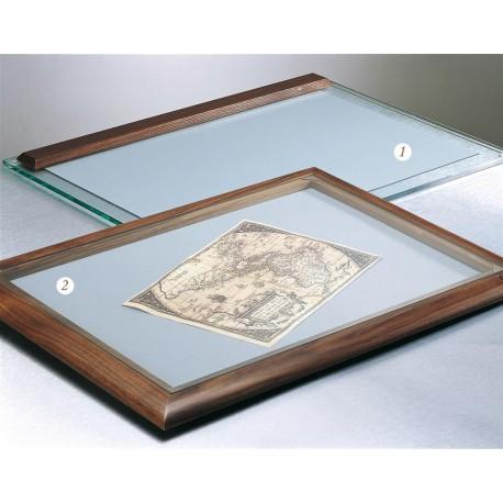 Szklana podkładka na biurko 'Full Frame' 1083N