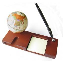 """Globus 3.75"""" z długopisem - 0911HDV"""