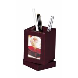 Obrotowy Pojemnik na Ołówki z Ramką na Zdjęcia - 1591FDU