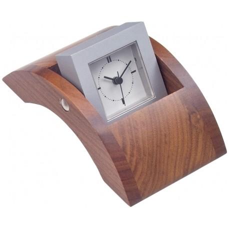 """Kwadratowy Zegarek w """"Falującej"""" Oprawie - 5072WJN"""